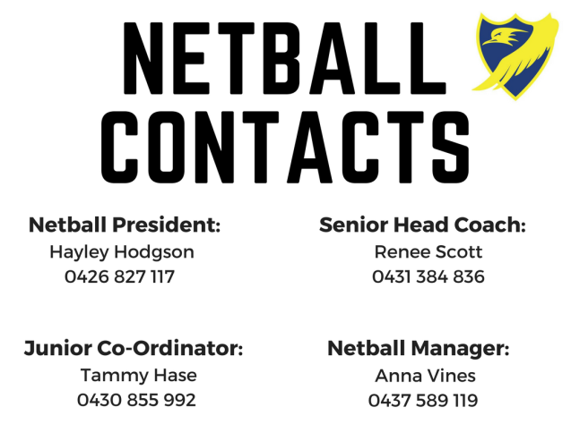 Netball Contacts