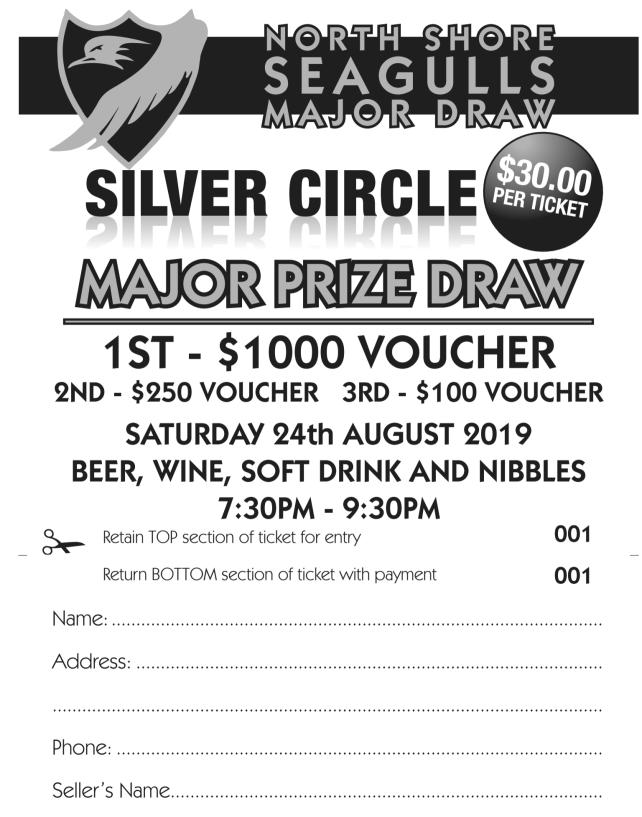 Silver Circle Ticket